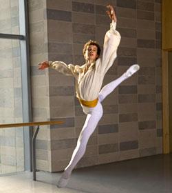 Robert Binet, Student, Canada's National Ballet School